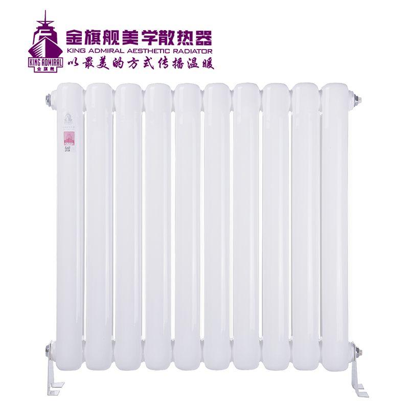 钢制散热器60方白色
