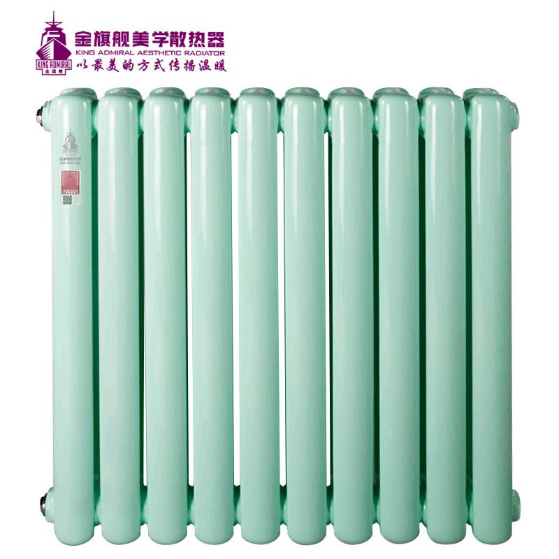 钢制散热器60方绿色