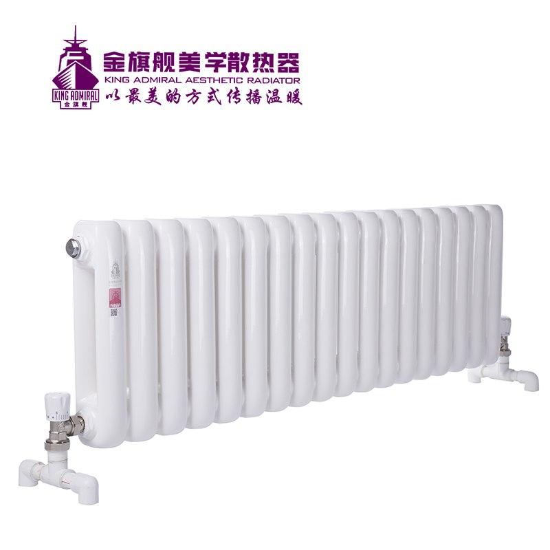 新钢制散热器60方白色300